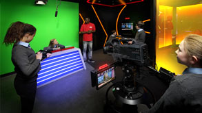 Sky TV Skills Studio.  Photo credit © BSkyB 2012