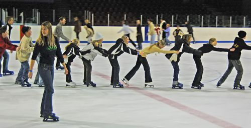 Ice Skating Friday 13 February 2015