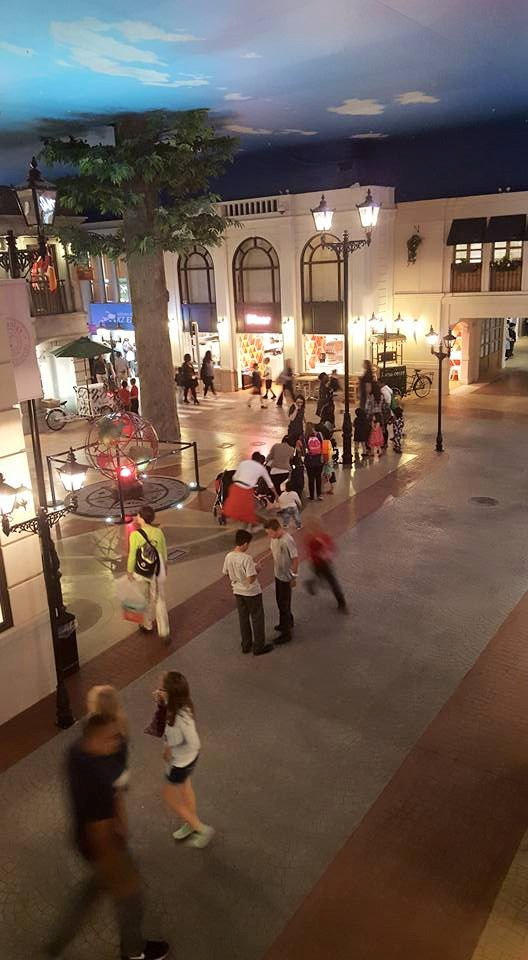 Kidzania Main Square.  Photo credit © L Rowe 2015