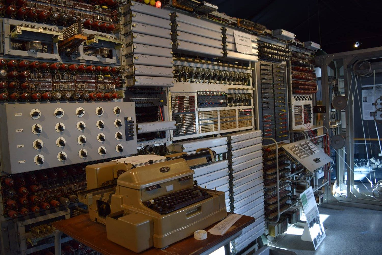 The National Museum of Computing (The Colossus Gallery) Photo credit © L Rowe 2016