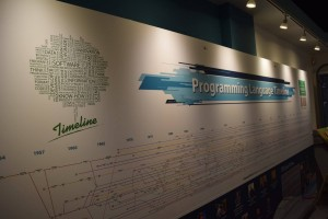The National Museum of Computing (Programming Language Timeline) Photo credit © L Rowe 2016