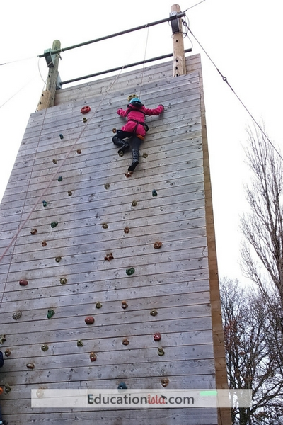 PGL Climbing. Photo credit © L Rowe 2017