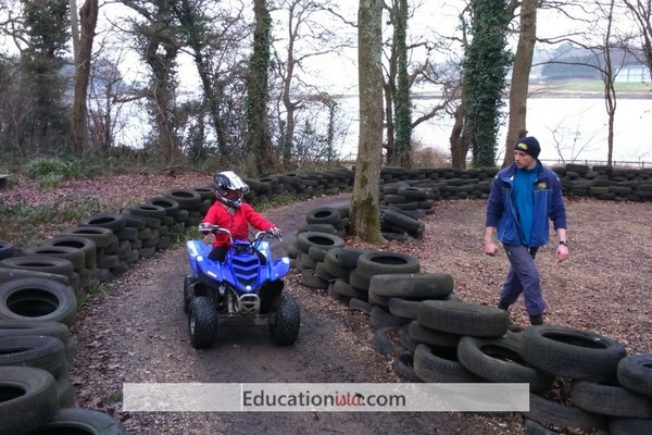 PGL Quad Bike. Photo credit © L Rowe 2017