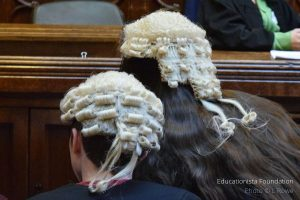 Trial Re-enactment at the Royal Courts of Justice. Photo credit © L Rowe 2016