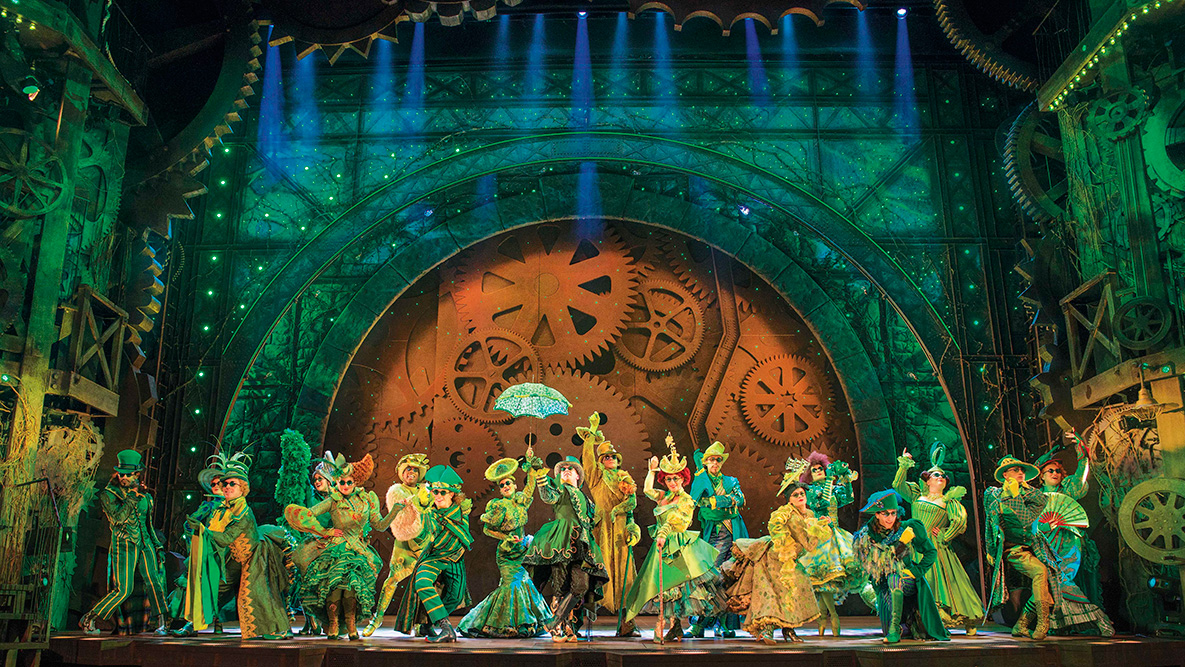 Wicked the Musical. Photo credit © Matt Crockett 2014