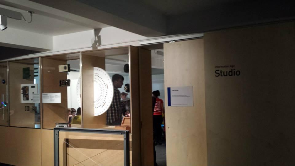 Code Builder Workshop - entrance.  Photo credit © L Rowe 2014