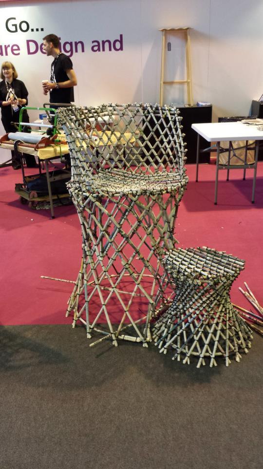UK Skills Show 2014 - furniture design.  Photo credit © L Rowe 2014