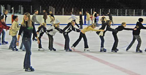 Ice Skating Monday 2 February 2015