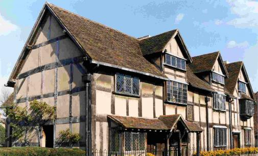 Shakespeare's Birthplace Stratford April 2015