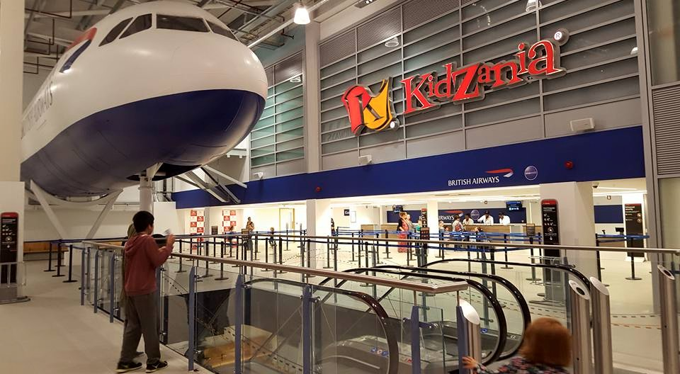 Kidzania Check In.  Photo credit © L Rowe 2015