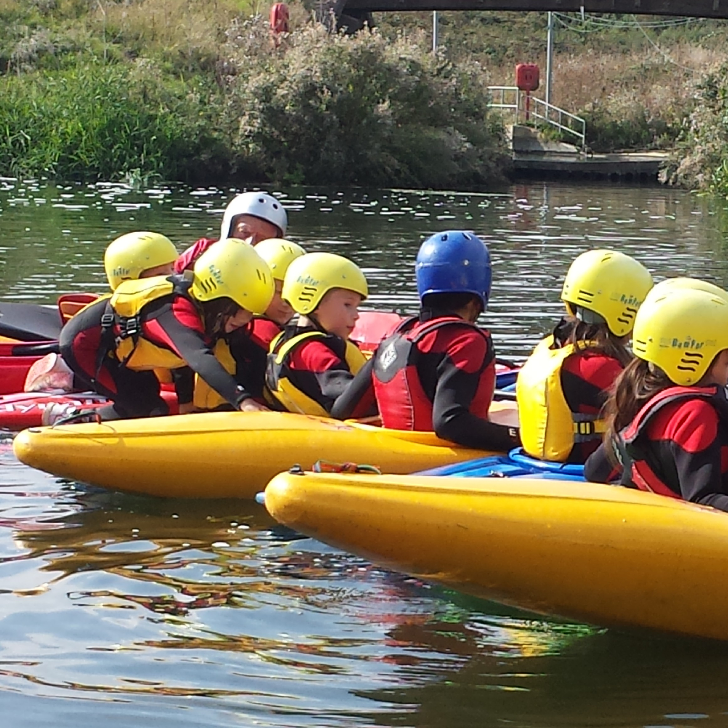 Kayaking Home Educucation Activity 2014