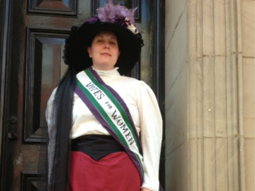 Suffragettes Study Day March 2016