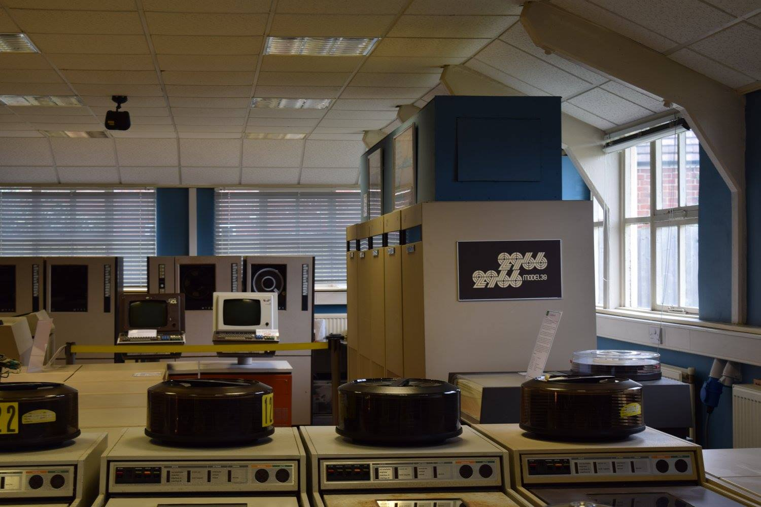 The National Museum of Computing (ICL2966 Mainframe) Photo credit © L Rowe 2016