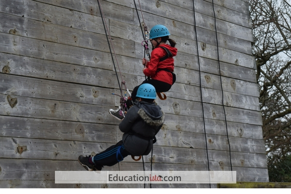PGL Abseiling. Photo credit © L Rowe 2017